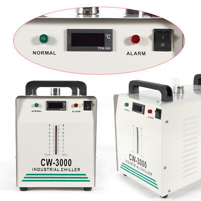 Cw-3000 Industrial Water Chiller Co2 Glass Laser Cold Engraving Cutting Machine