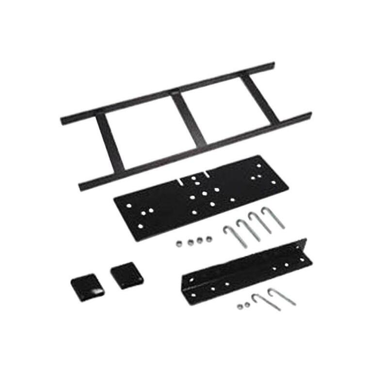 Runway Rack 62 Inch Wall Kit Cable Ladder Mounting Hardware Conduit Steel Black