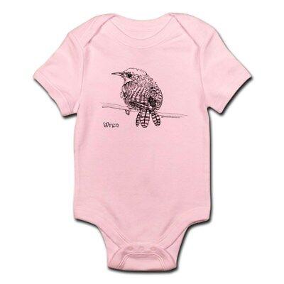 CafePress Little Brown Wren Infant Bodysuit Baby Bodysuit
