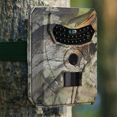 New 12MP HD 1080P Hunting Trail Camera Nature Wildlife Animal Farm Cam Scouting