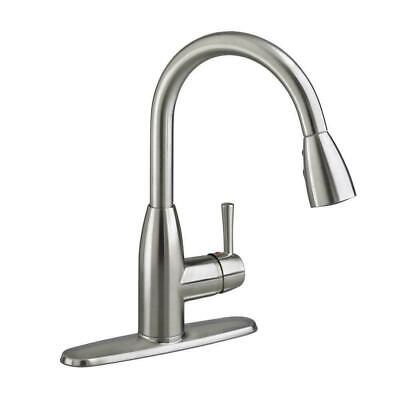 American-Standard-Fairbury-1-Handle-Pull-Down-Kitchen-Faucet-Stainless-Steel