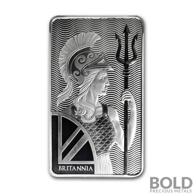 Silver - 10 oz Britannia Bullion Bar
