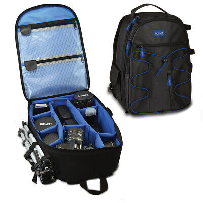 PRO DSLR Camera Shoulder Case Bag Waterproof Backpack For Canon-EOS Nikon-Sony