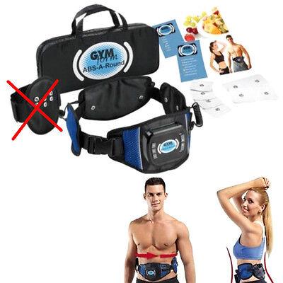 Cintura dimagrante fascia elettrostimolazione a batterie Gym Form Abs-a-round