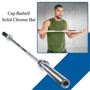 NEW Cap Barbell Solid Chrome Bar (6-Feet) Condtion: New, 6-Feet