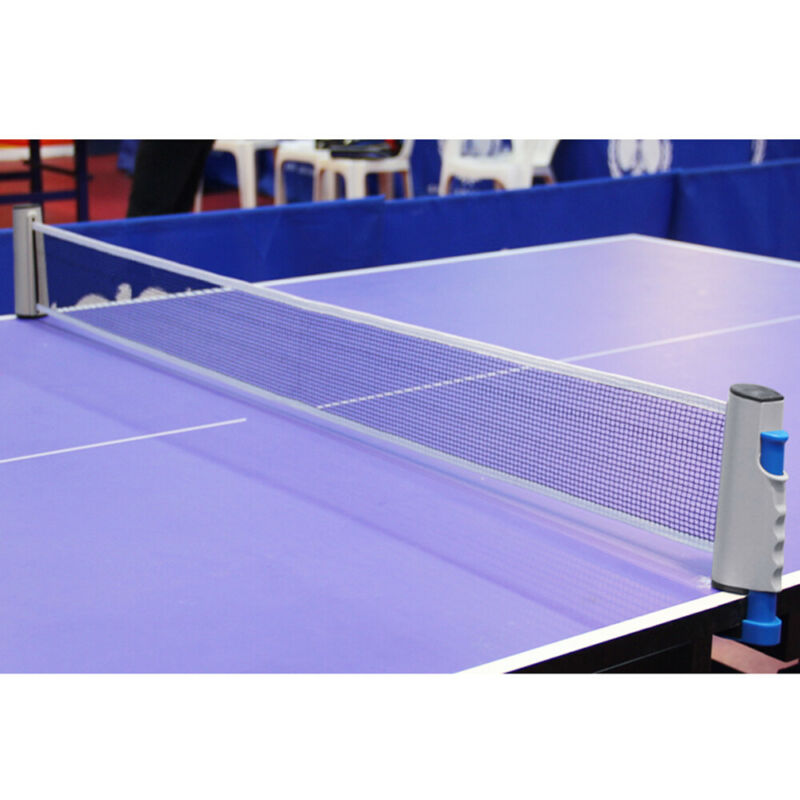Portable Retractable Adjustable Table Tennis Ping Pong Net Rack Replacement Kit