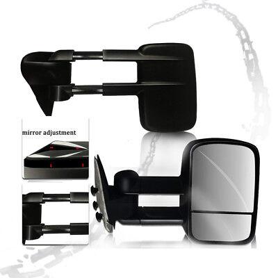 Telescoping Tow Mirror (Fit 1999-2007 Chevy Silverado 1500 2500 3500 Manually telescoping tow mirror)