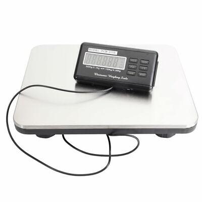 660lbs Lcd Postal Platform Digital Scale Shipping Pet Floor Bench 300kg Weigh