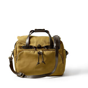 Filson-Padded-Laptop-Computer-Bag-Case-Briefcase-70258-Tan-Formerly-style-258
