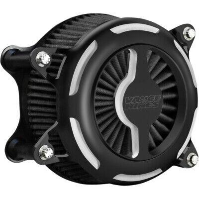 Vance & Hines Black V02 Blade Air Cleaner Filter Intake Harley Twin Cam 08-17
