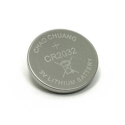 2 Stück CR2032 Lithium Knopfzelle 3 Volt CR 2032 Batterie für z. B. LED Bag Spot 2 Cr2032 Batterien