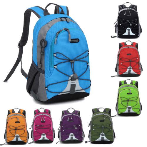 Children Boys Girls Waterproof Outdoor Backpack Bookbag School Bag Trekking