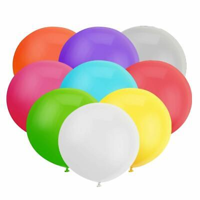 18 Inch Big Round Balloon Assorted Latex Giant Balloon Jumbo Thick Balloons   - Big Round Balloons