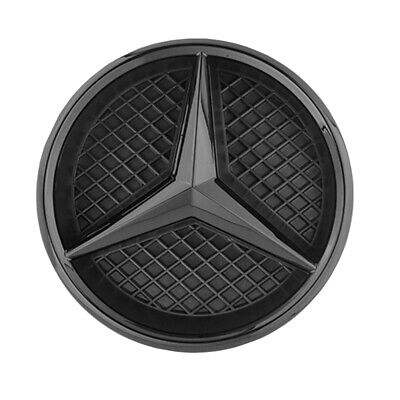 Mercedes Benz Grundträger Chrom Stern Logo Kühlergrill W176 W205 A C Klasse Neu