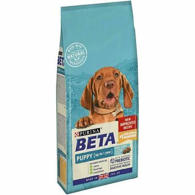 Beta puppy chicken 2 kg complete dog food - new improved recipe