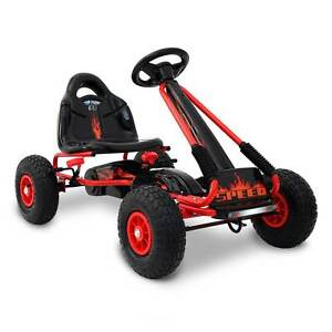 NEW FREE SHIPPING - Kids Pedal Go Kart - Red Silverwater Auburn Area Preview