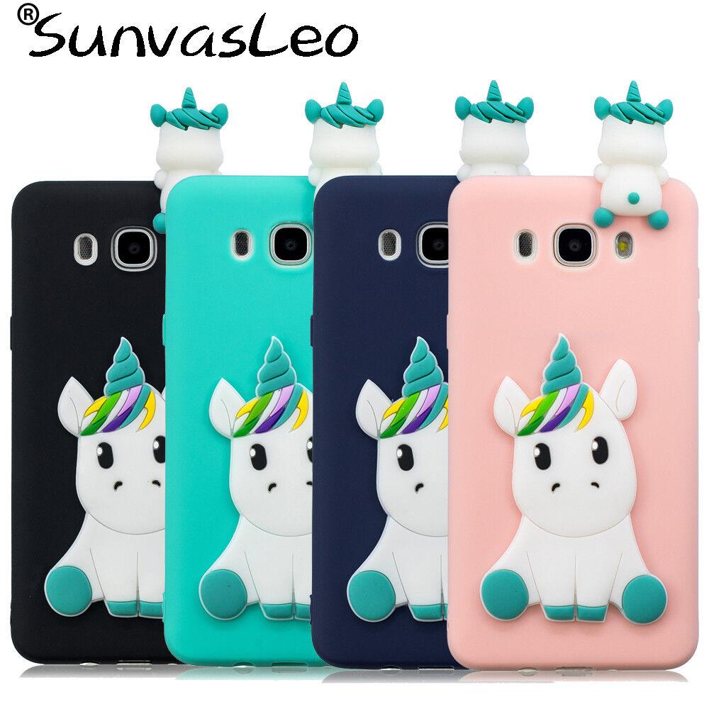 cover samsung j3 2017 silicone unicorno
