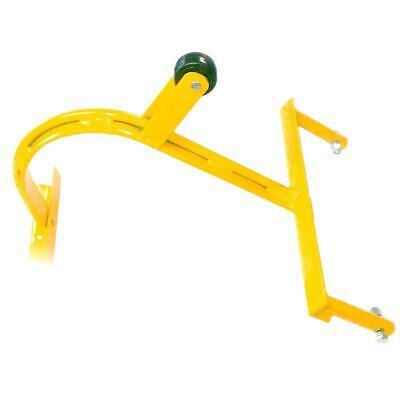 Chicken Ladder Hook Wheel Weather Resistant Heavy Duty T Bar Hand Welded Steel