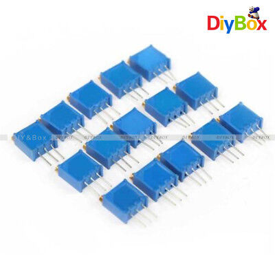 15pcs 100-500k 15value 3296 Trimmer Potentiometer Assorted Variable Resistor