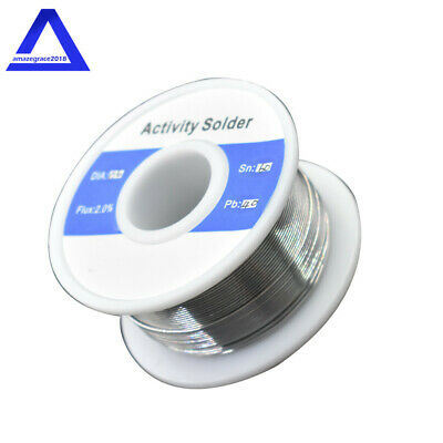 60-40 Tin Lead Rosin Core Solder Wire For Electrical Solderding 0.023 Inches 50g