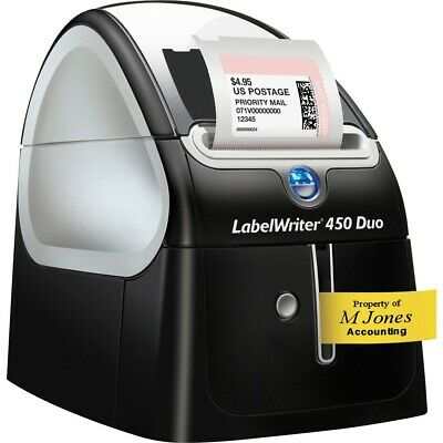 Dymo Corporation 1752267 Labelwriter 450 Duo Usb Label Printer Winmac