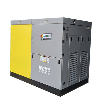 460v 100hp 75kw Rotary Screw Air Compressor 3 Phase 425-390cfm Npt2 Industrial