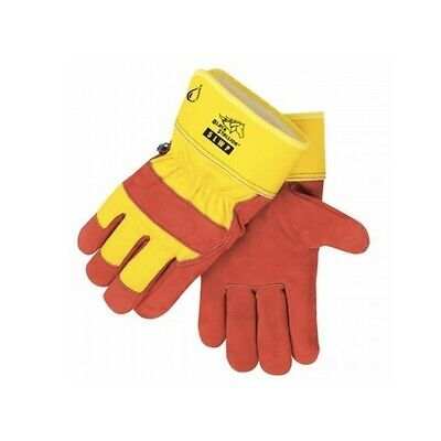 Revco 5lwpl-red Red Waterproof Insulated Cowhide Work Gloves Large