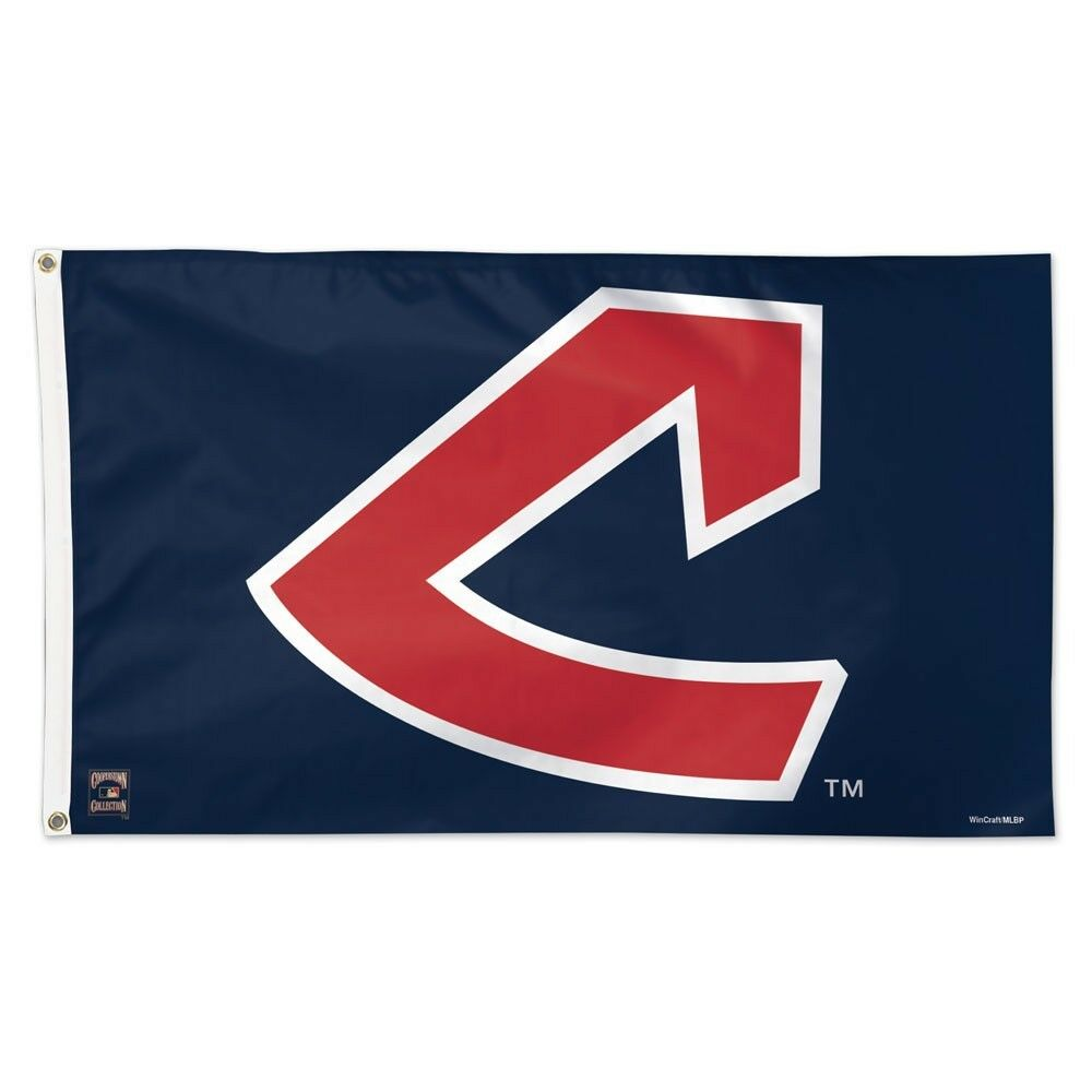 cleveland indians cooperstown collection 3 x5 deluxe