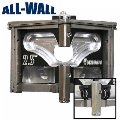 Columbia Drywall Taping 2.5 Angle Headcorner Finisher Wconvertible Wheels