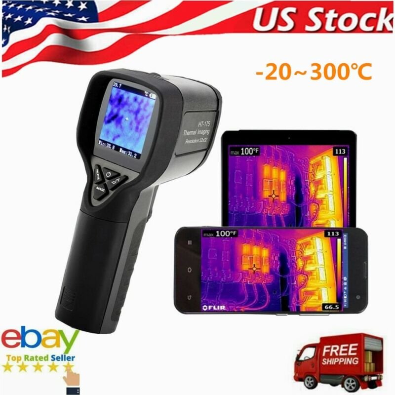 HT175 Infrared Thermal Imaging Camera Digital Thermometer Imager -20~300°C US