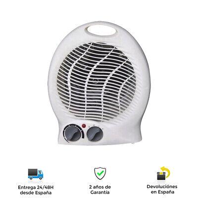 Calefactor Termo ventilador portátil - Calefactor eléctrico 2 modos, 2000W