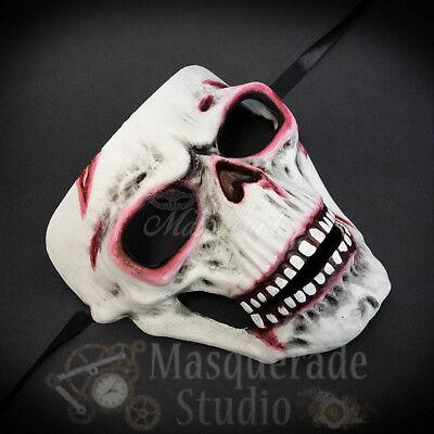 Horror Bloody Creepy Skull Costume Festival Halloween Masquerade Face Mask](Bloody Face Mask Halloween)