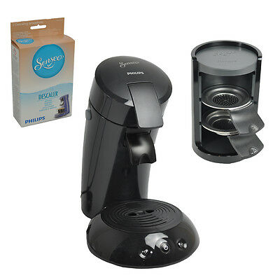 Philips Senseo Kaffee Padmaschine HD 7817/67 mit Zubehör inkl. Entkalker schwarz