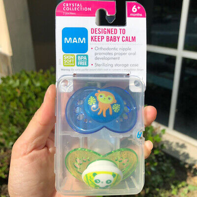 MAM Pacifiers, Baby 6+ Months, Best For Breastfed Babies, Animal Design