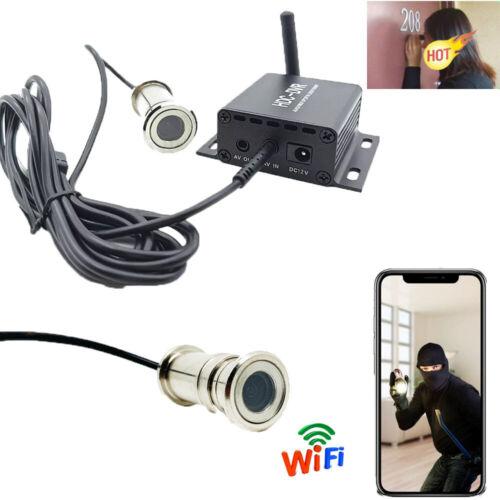 4K HD Phone WIFI IP wireless door peephole motion detect alarm camera recorder V