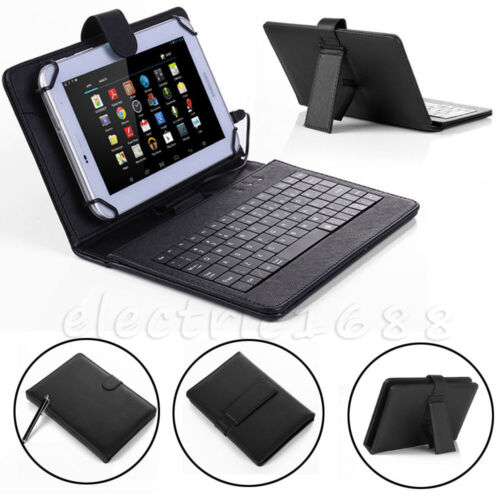 """Amazon Kindle Fire HD 7 8 10"""" Fire 7 HDX 7 PU Leather Tablet"""