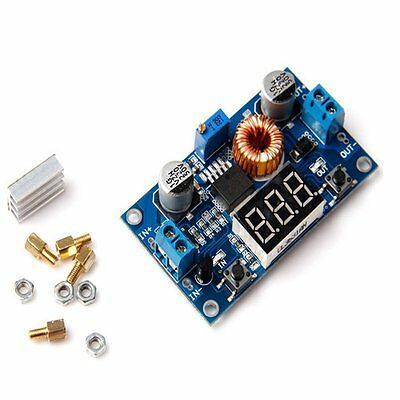 Buck Dc-dc Step-down Converter Power Supply Module 40v 5a 75w Voltmeter