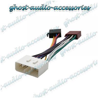 ISO Wiring Harness Connector Adaptor Stereo Radio Lead loom for Daewoo Nubira