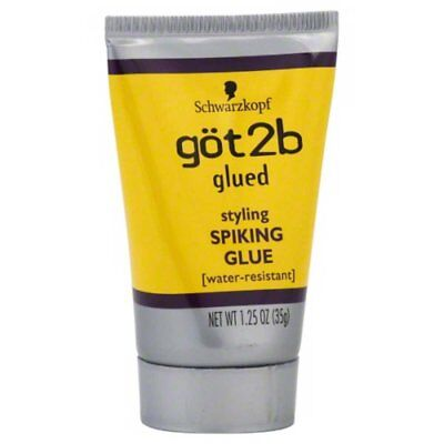 [GOT 2B] GLUED STYLING SPIKING GLUE WATER-RESISTANT SCREAMING HOLD 1.25OZ
