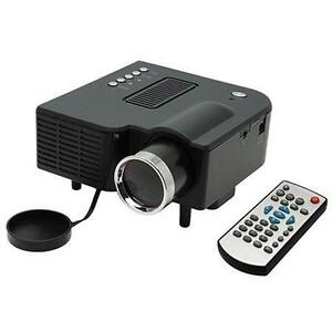Mini led projector ebay for Led pocket projector