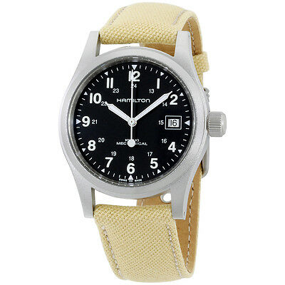 Hamilton Men's H69419933 Khaki Field Black Dial Watch