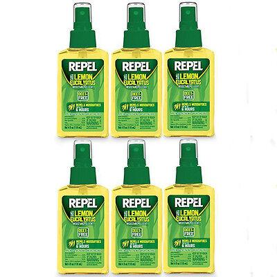 Repel, Plant Based Lemon Eucalyptus Insect Repellent - 4 fl