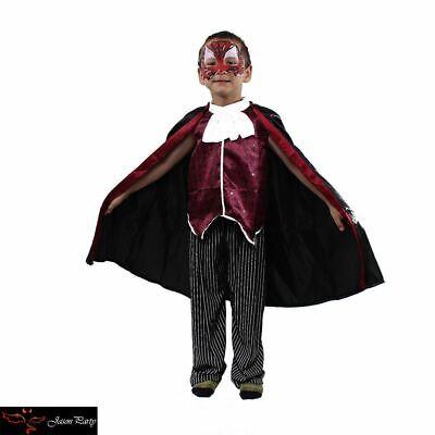 New kids Child Vampire Halloween Costume Gothic Dracula Vampire Dress - Vampire Costumes
