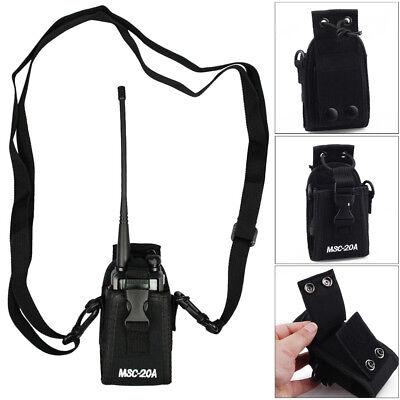 Radio Case Holder Walkie Talkie for GPS Kenwood Yaesu Icom Motorola Baofeng 2way