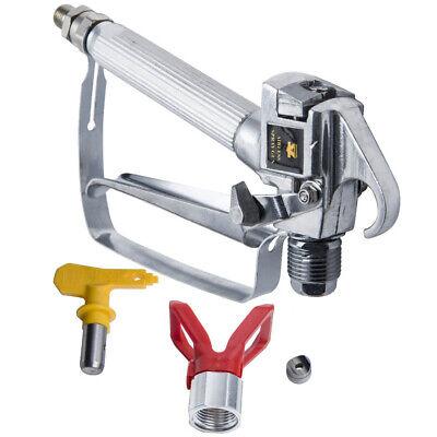 Airless Paint Spray Gun High Pressure Sprayer 3600 Psi 517 Tip Swivel Joint