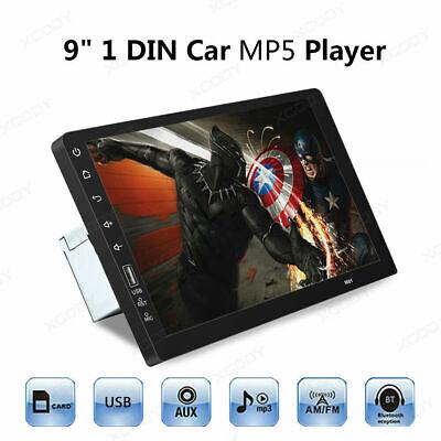"9"" 1 Din Car MP5 Player FM Stereo Radio USB AUX-IN TF Card BT Touchscreen EQ"