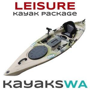 NEW Leisure Ultimate Fishing Kayak - Plus extras Perth Region Preview