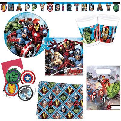 Mighty Avengers Kindergeburtstag Auswahl Deko Party Dekoration Geburtstag NEU