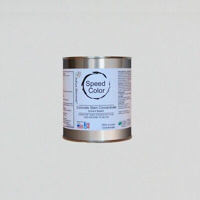 Fast Drying Concrete Paint 24oz Concentrate Yields 1 Gallon True White Color