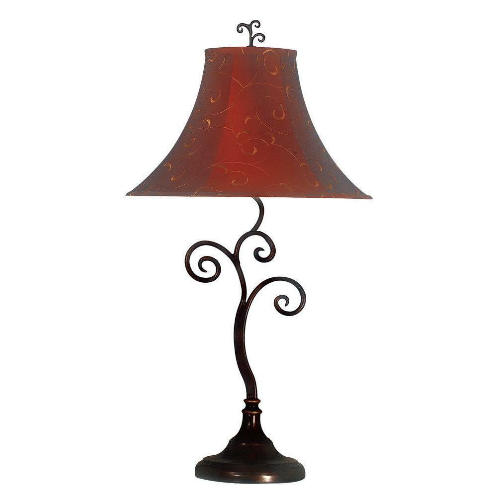 Richardson Table Lamp in Bronze